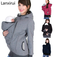 Parenting Child Winter Pregnant Women 'S Sweatshirts Baby Carrier Wearing Hoodies Maternity Mother Kangaroo Clothes