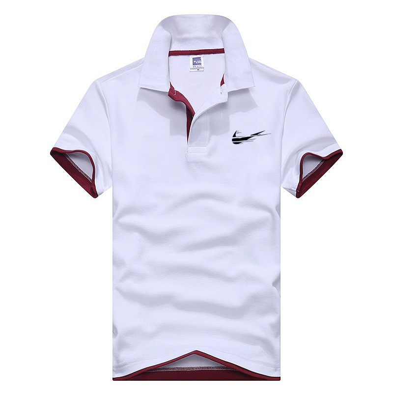 2018 Latest Design Cotton Humorous Polo Shirt Enterprise & Informal Stable Male Polo Shirt Quick Emblem Print Sleeve Breathable Polo Shirt