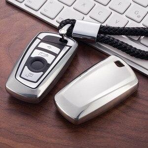 Image 4 - Weiche TPU Auto Schlüssel Fall Abdeckung Für BMW 520 525 F10 F30 F18 118i 320i 1 3 5 7 Serie x3 X4 M3 M5 Schlüssel Schutz Shell Auto Styling