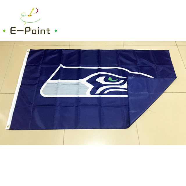 finest selection 29126 b8f83 Seattle Seahawks 3ft*5ft (90*150cm) Size Christmas Decorations for Home  Flag Banner Gifts
