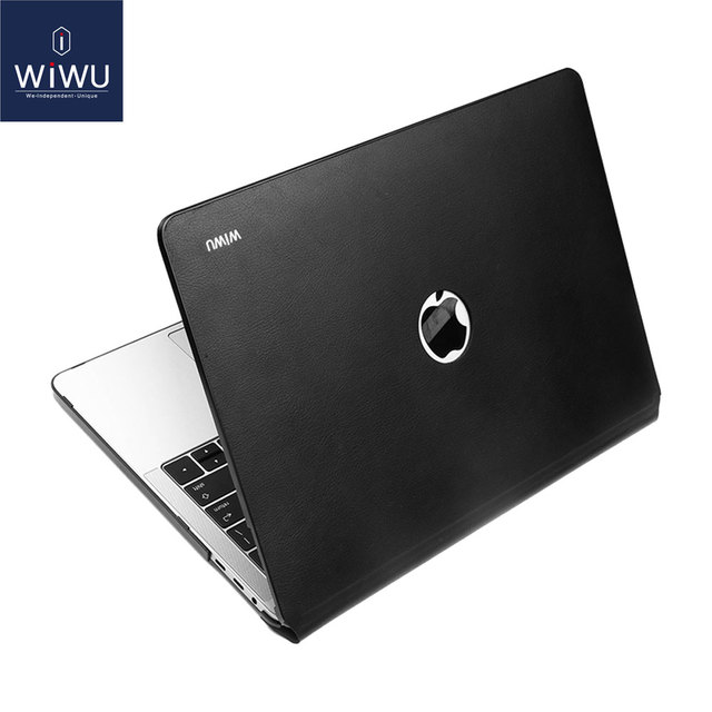 New Laptop Case for MacBook Pro 13 inch A2159 2019 PU Leather Laptop Sleeve for Apple MacBook Case 13 Water resistant Laptop Bag