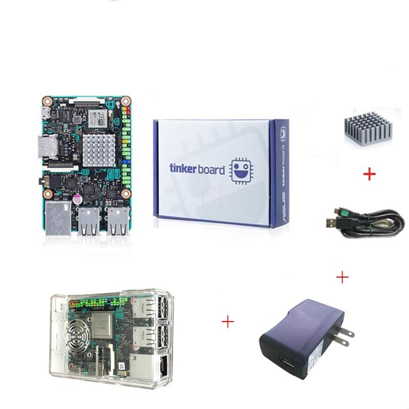 ASUS SBC Tinker board RK3288 SoC 1 8GHz Quad Core CPU 600MHz Mali T764 GPU 2GB
