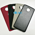 You Kit Original New Real Leather Wood Ballistic Nylon Magnetic Attract Back Battery Cover StyleMods For Motorola Moto Z/Z Play
