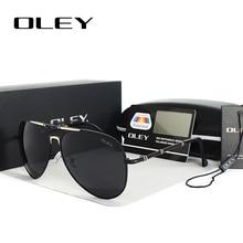 OLEY Unisex polarized Sunglasses Men women oversized Sun Glasses Driving goggles gafas lunettes de soleil pour hommes Y1616