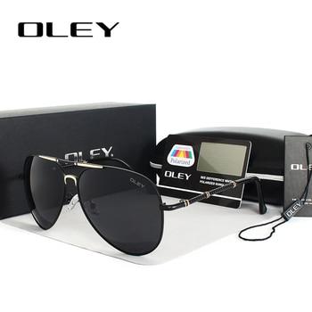 d3c0e5ce13 Gafas de sol polarizadas Unisex OLEY hombres mujeres de gran tamaño gafas  de conducción gafas de