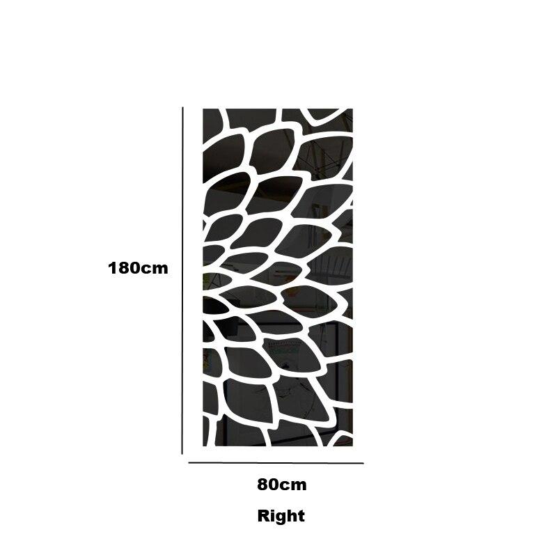 DIY plant boom patroon ronde dot 3d muursticker interieur grote muur spiegel slaapkamer bed hoofd decal stickers muuraffiche R101 - 5