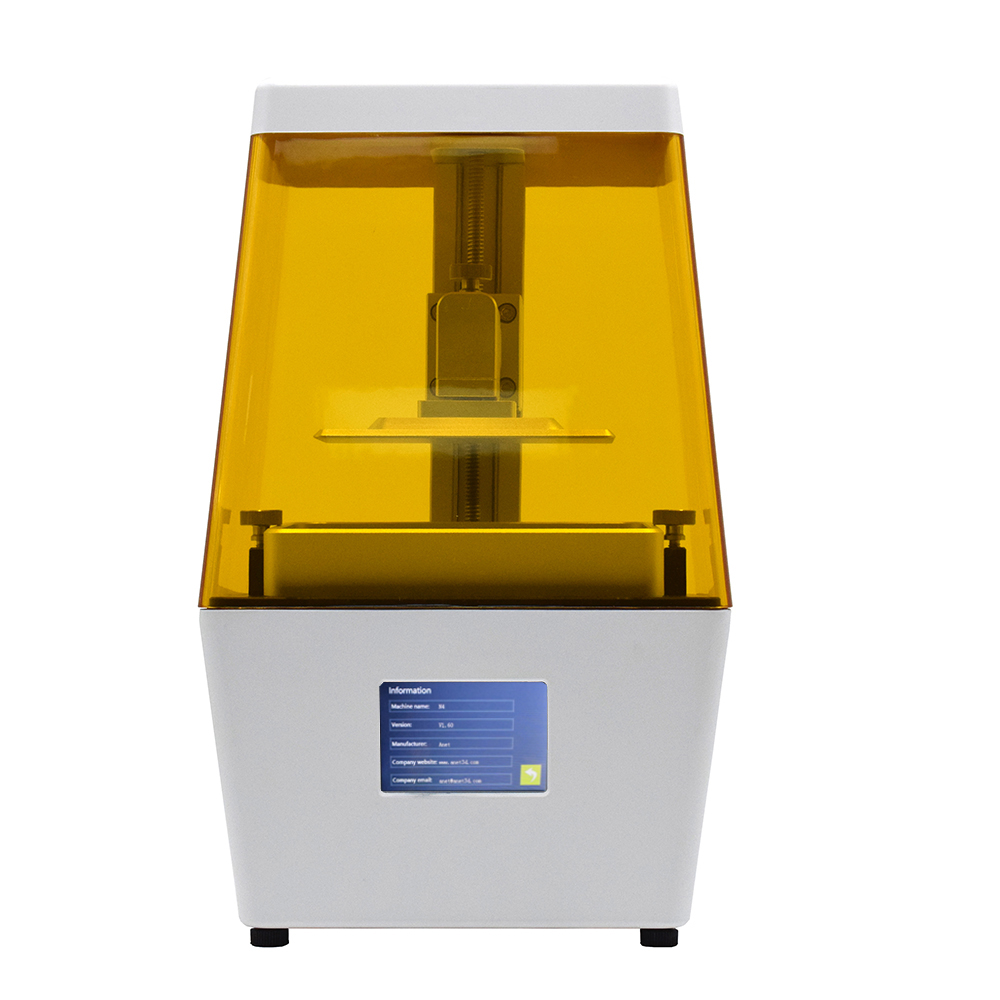 High Accuracy 3D Printer with 2K HD 3.5 Inch Smart Colored Touchscreen U Disk Off line Light curing Printer for Jewelry Dental|3D Printers| |  - title=