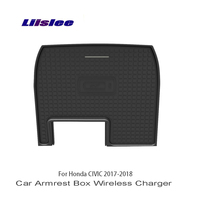 Liislee For Honda CIVIC 2017~2018 Car Armrest Box Car Charger Central Store Content Box Car Quick Charge Fast Mobile Phone