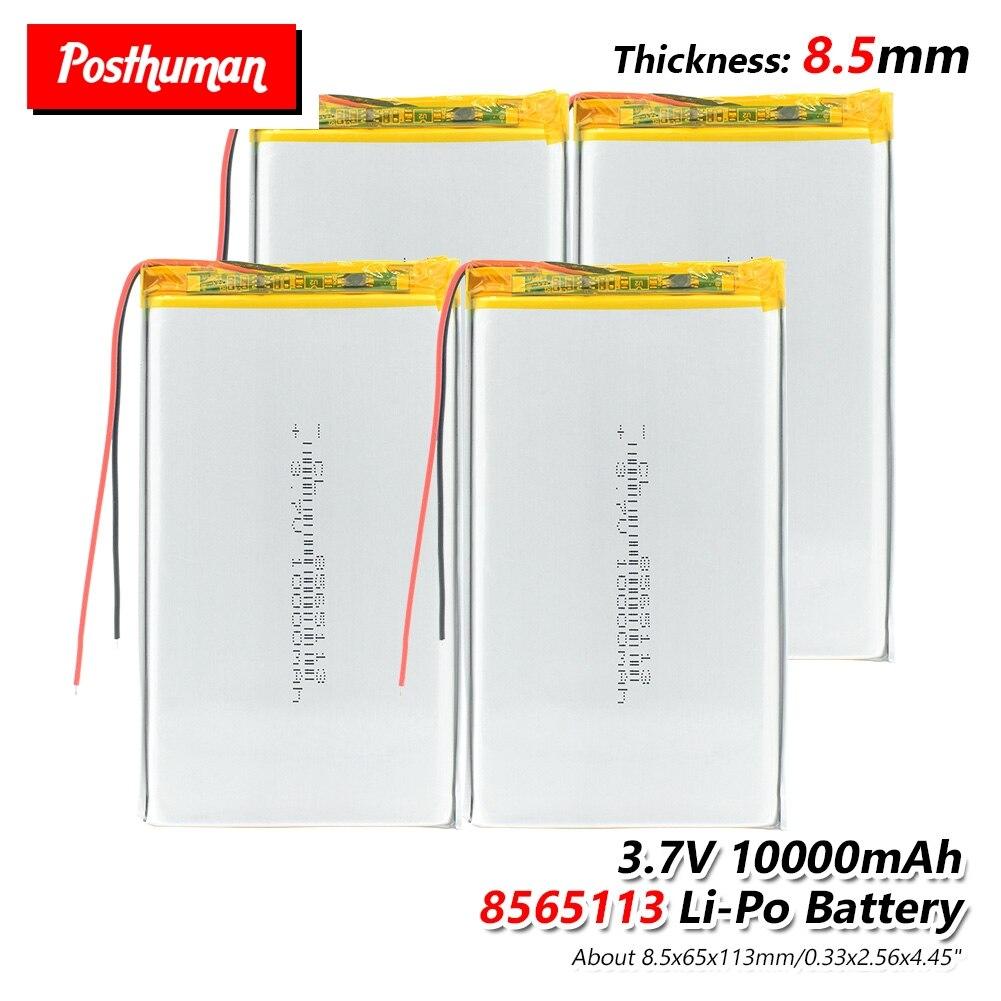 POSTHUMAN For Tablet DVD GPS Medical Device PDA Bluetooth Speaker, Digital Camera 3.7V 10000mAh Lipo Battery 8565113 With PCM