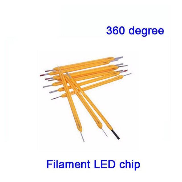 50x 360 degree led filament light source high voltage 60v low