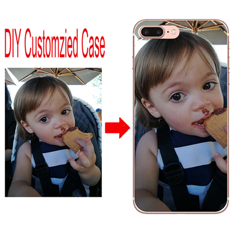 DIY custom design own name Logo Customize printing your photo picture phone case cover F ...