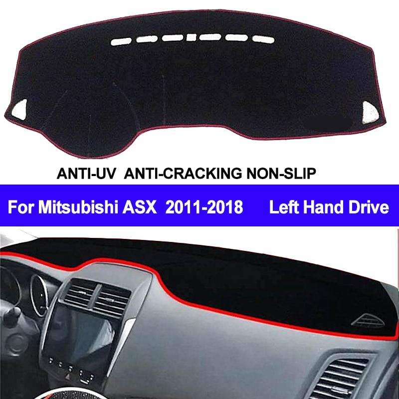 TAIJS Car Dashboard Cover Dash Mat Dash Board Pad Carpet Dashmat Anti-UV For Mitsubishi ASX RVR Outlander Sport 2011 - 2017 2018