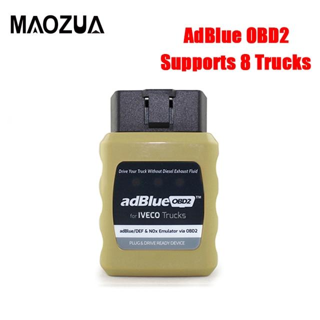 Mới Nhất OBD2 Xe Tải Adblue Giả Lập Cho IVECO Cho Volvo Cho Renault Adblue/DEF Nox Cắm & Ổ AdblueOBD2 Xe Tải chẩn Đoán