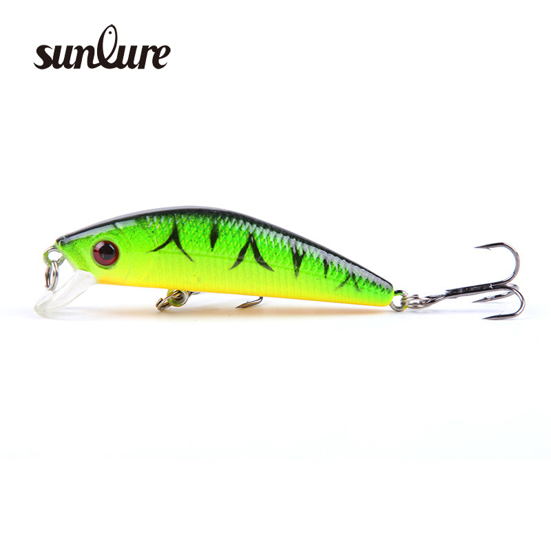 1pcs 7CM 8.5G Minnow Fishing Lure 6# Hooks Fishing Wobblers Crankbait iscas artificiais para pesca Japan Hard Bait Swimbait ZB9
