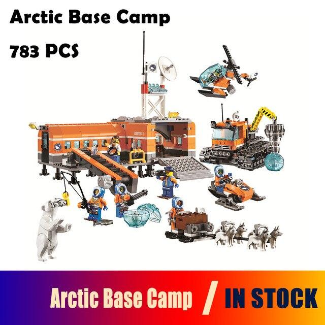 Bela 10442 Model building kits compatible with lego City Arctic Base Camp 60036 3D Brick figure toys Educational toys hobbies