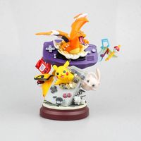 2019 New Hot Toys Charizard pika pokemones Action Figure Collective PVC Model Toys For Kids Birthday Gift