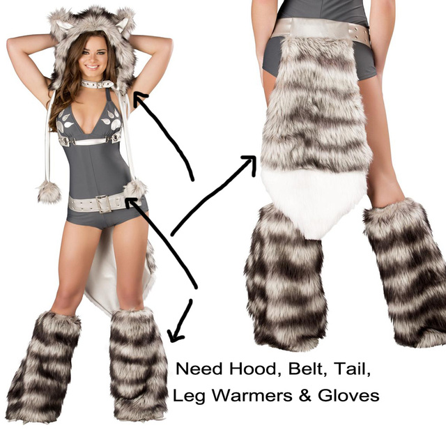 Sexy Wolf Girl Costume Sexy wolf Costumes Halloween Furry Costumes for women Animal Costume Cosplay  sc 1 st  AliExpress.com & Sexy Wolf Girl Costume Sexy wolf Costumes Halloween Furry Costumes ...