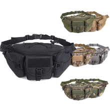 Tactical Hunting Waist Bag Military Molle Belt Hip Pack Outdoor Hiking Camping Sport Adjustable Chest