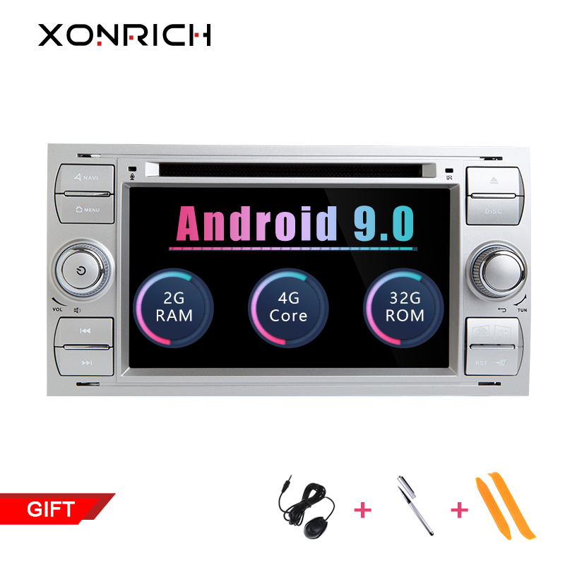 2 din Android 9.0 Car Radio Multimedia Player Per Ford Focus 2 3 Ford Fiesta Mondeo 4 Kuga C- max S-Max Fusion Transit GPS 2 + 32 GB2 din Android 9.0 Car Radio Multimedia Player Per Ford Focus 2 3 Ford Fiesta Mondeo 4 Kuga C- max S-Max Fusion Transit GPS 2 + 32 GB