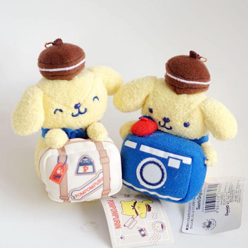 Pom Pom Purin Plush Toy travel Soft Stuffed Animals Dolls Pendant figure doll