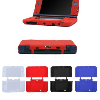 1PC Soft Full Silicone Cover Protective Shell Case Cover Skin For Nintendo New 3DS XL/LL Game Console