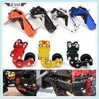 motorcycle Motobike CNC Chain Tensioner Chain adjuster on Roller Adjust FOR SUZUKI GSXR1100 GSXR400 GT250 GT550 RG500 RGV250