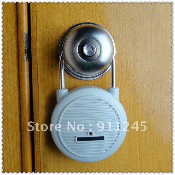 Personal Smart Vibration Shock Dog Barking Sensor Alarm For Door
