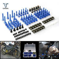 CNC Universal Motorcycle Fairing/windshield Bolts Screws set For Triumph daytona 600/daytona 650/rocket III roadster speed four