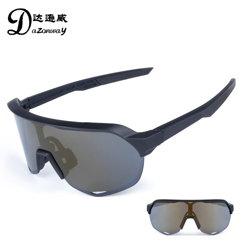 2018 New 3 Lens Anti UV Polarized TR90 Cycling Glasses Men's Outdoor Sports Sunglasses Road Bike Mountain Bike Cycling Eyewear