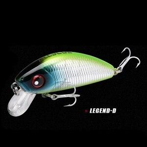 Image 5 - 1 sztuk 4.5cm 4.1g mini Minnow twarda przynęta przynęta na ryby Aritificial japoński wobler Bait pstrąg bass carp fishing