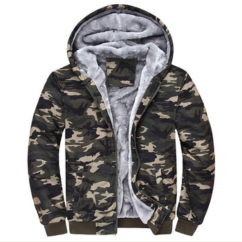 2019 New Sell like hot cakes Fashion brand Camouflage Hoodies Tracksuits Velvet Fleece Thick Camo Mens Hoodies and Sweatshirts