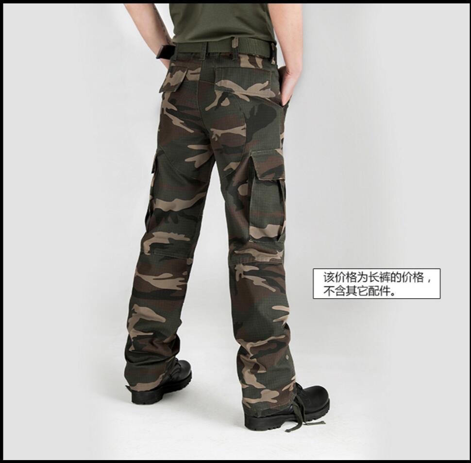 28 Selva Nuevos Bolsas La Hombres Los Camuflaje Camouflage De 44 Carga Tridimensional 2019 Casuales Pantalones rwqS1r74Xx