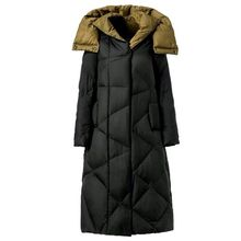 New Plus Size M~5XL Women's Thickening Long Duck Down Jackets Winter Ladies Parka Coats Hooded Female Coats Outerwear Clothing