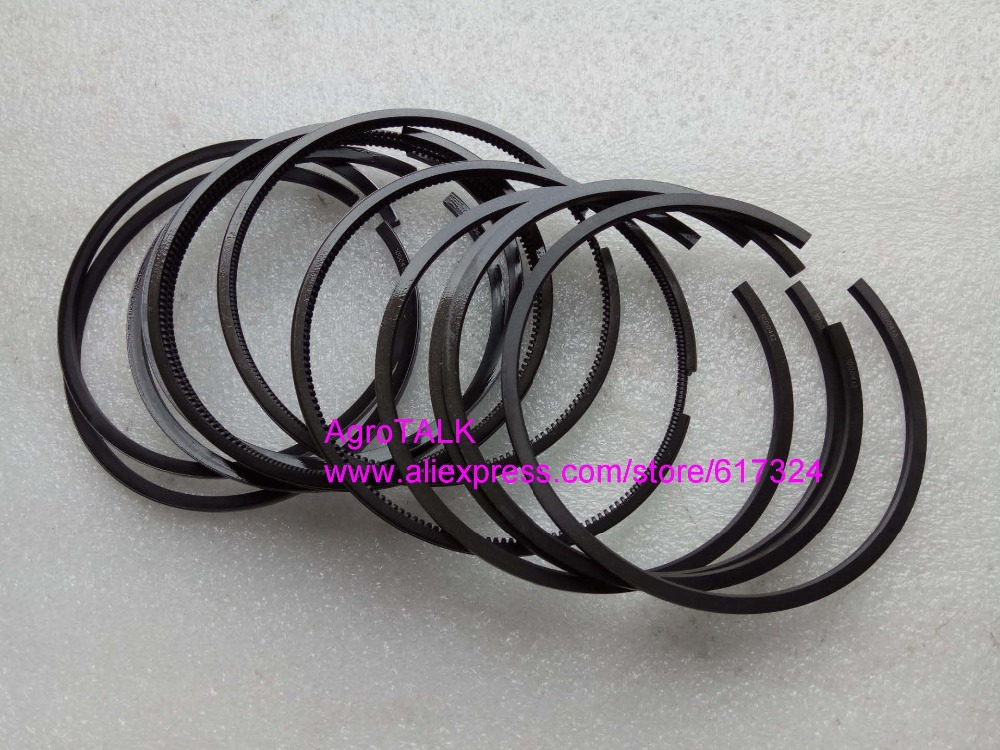 Luoyang YTO engine LR4108T53 parts, the set of piston rings, part number: RB.050002-1/03-1/0200-1 quanchai qc4102t52 parts the set of piston and piston rings part number 4102qa 03001