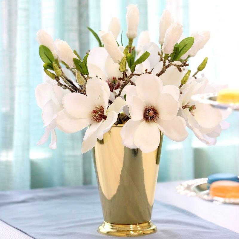 Silvergold Plated Metal Mini Flower Vase Fashion Vase Wedding