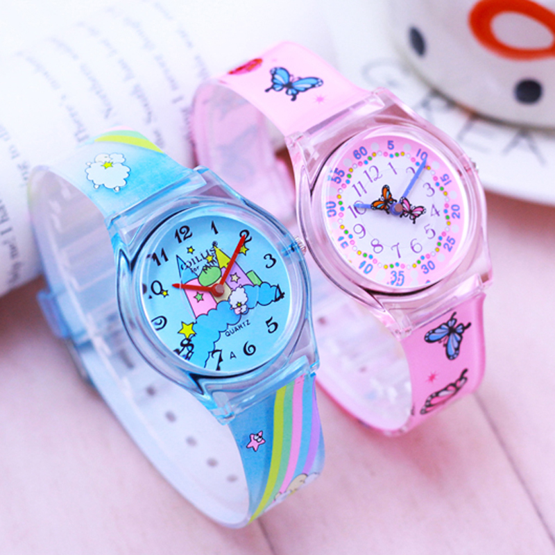 WILLIS NEW Styles Fashion Girls Watches Silicone Wristwatch Mixed Colors Lover's Watches Women Sport Plastic Clock Kids Watch