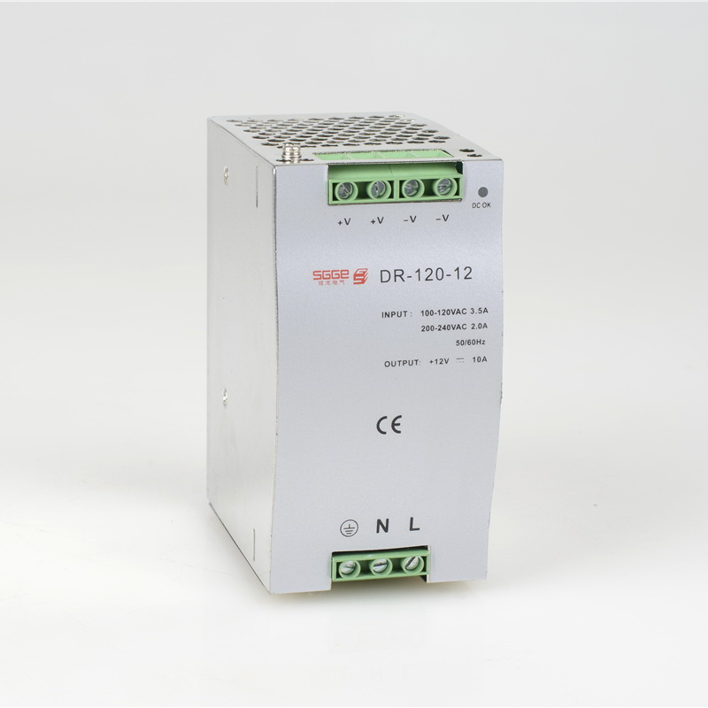 DR-120-12 120W 12V 10A Din rail Single Output Switching s