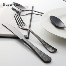 Buyer Star 45-Piece Flatware Set Service for 8 Stainless Steel Cutlery Gold Dinner Include Knife Fork Spoon 4 Colors
