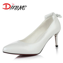 New 2016 hot sale red bottom elegant ladies Fashion Women shoes thin High Heels pointed toe Pumps office work dress party shoes