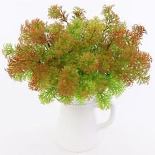 Искусственный пластик мох трава растение дерево домашний офис вечерние украшения мебели