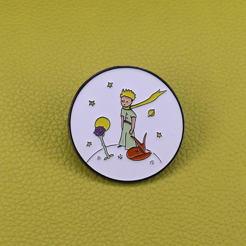 O Pequeno Príncipe Esmalte Pin