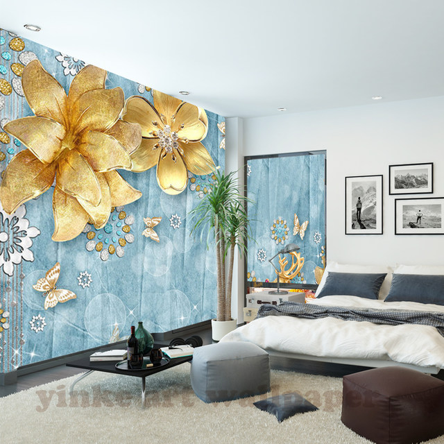 Online Shop Custom Wall Mural Wallpaper Mediterranean European Style