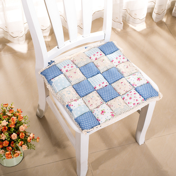 Free Shipping 40 40cm Chair Pad Cushion Pearl Cotton: Aliexpress.com : Buy 100% Cotton Quilted Chair Dining