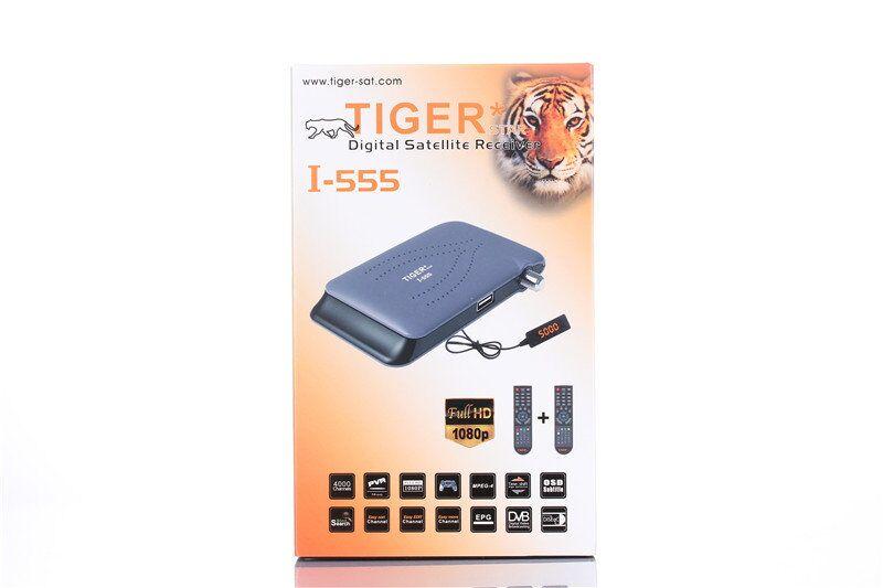 Tiger Decoder Powervu DVB S2 HD Satellite Receiver Open Paid
