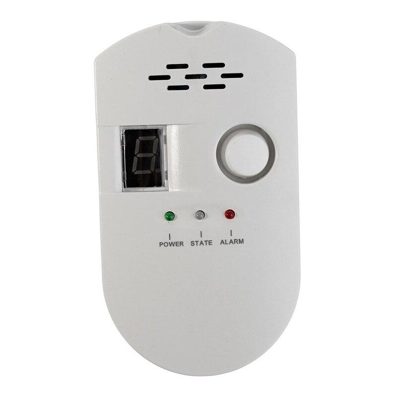 High Quality High Sensitivity LPG LNG Coal Gas Leak Detector Alarm Monitor Alarm Sensor New Arrival недорого