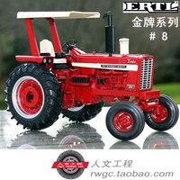 Чехол 1456 трактор Farm модель автомобиля золото памятный подарок ERTL 1:16