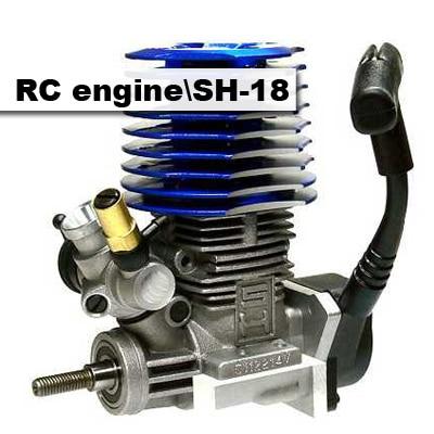 Oringial livraison gratuite RC 1/10 SH 18 RC Nitro côté moteur pour voiture Buggy camion pièces à distance