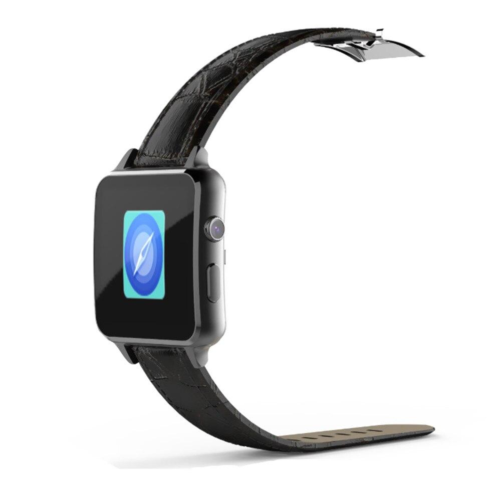 A8 sim bluetooth salud fitness monitor de ritmo cardíaco mtk2502 cuero de smart