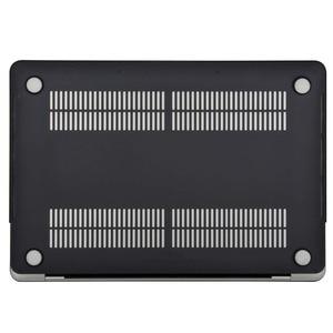 Image 4 - MOSISO Novo Cristal \ Laptop Matte Capa para Apple Macbook Pro 13 15 Escudo Duro Para Novo MacBook Pro 13 caso Capa A1708 A1706 A1990