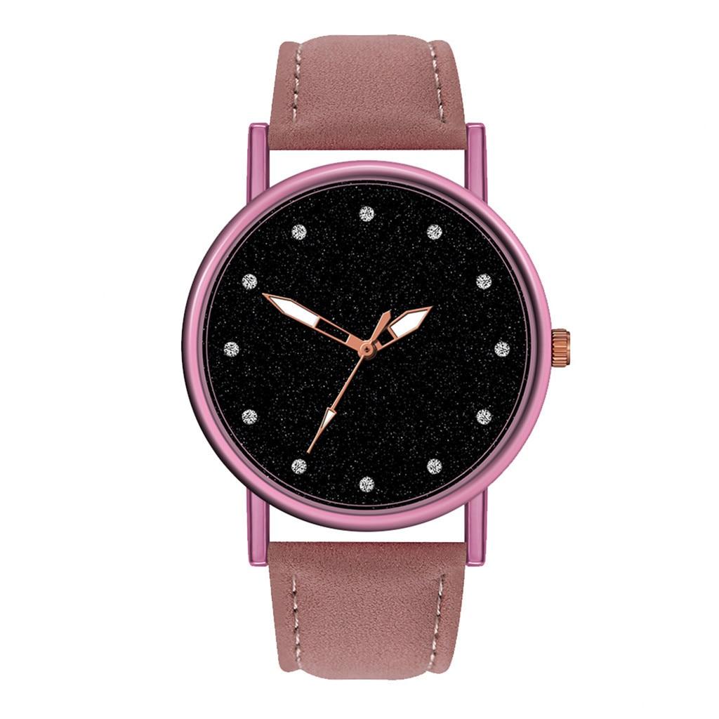 Women Watches Top Brand Luxury Quartz Watches Fashion Women Wristwatches Leather Waterproof Rose Gold Geneva Bracelet Watch Z70